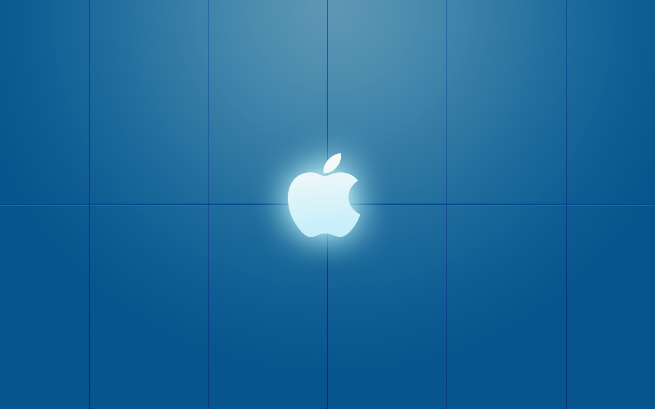 Top Wallpaper Macbook Background - apple+white+light+over+blue+background+wallpaper  Pictures_955617.jpg
