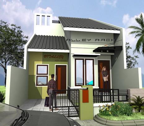 Contoh Gambar Rumah Sederhana on Pictures Of Contoh Gambar Dan Denah Rumah Sederhana Tampak Depan