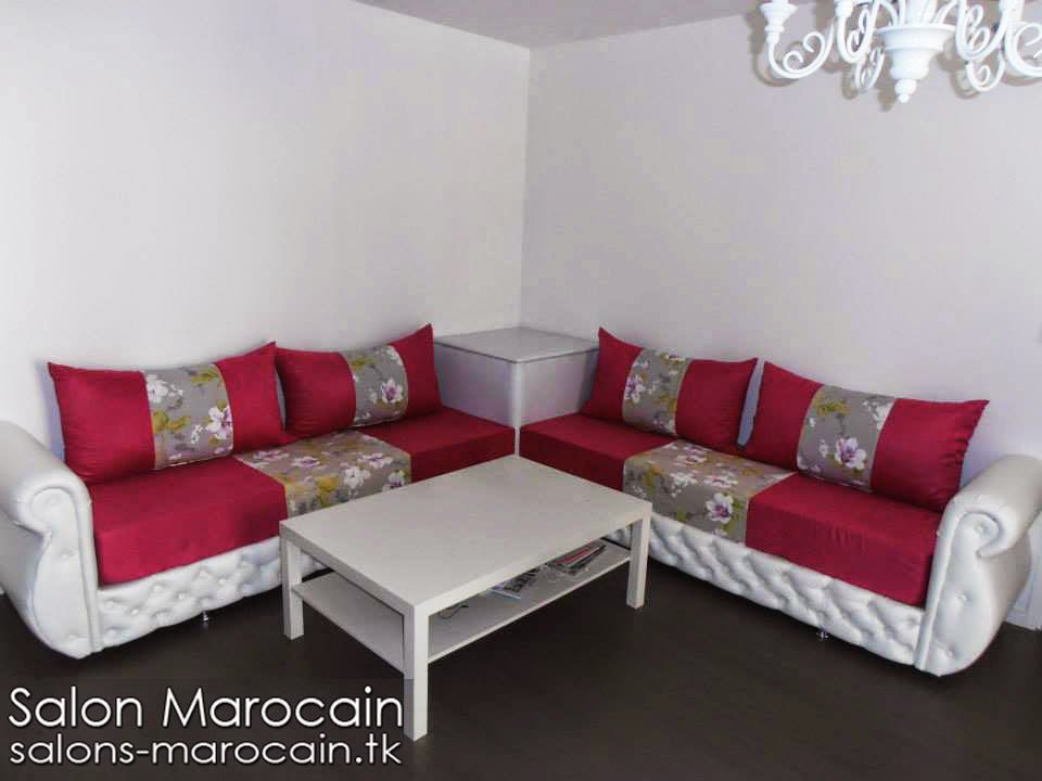 Incroyable Amazing Salon Marocain Blanc Photo Decoration Salon De Jardin Verre Jpg  With Deco Salon Marocain Moderne