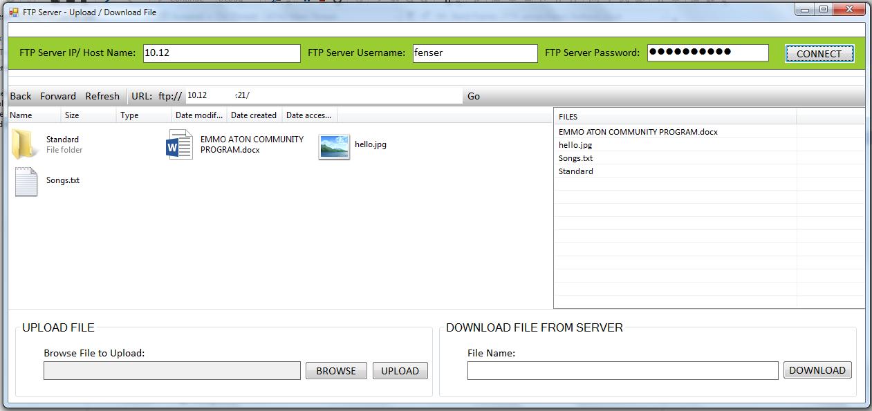 Скачать файлы с фтп