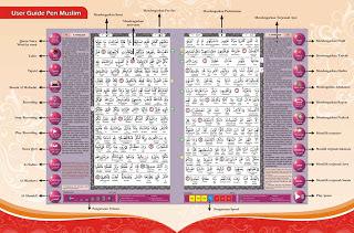 spesifikasi pen muslim al qur'an digital al mubarak