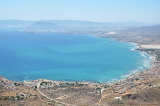 View of Mazarron Bay for Cabo Tiñoso