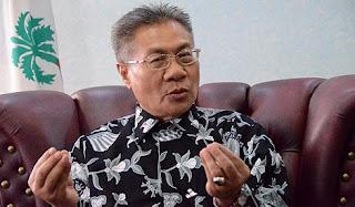 Datuk Mansor Othman sebagai calon PKR bagi kerusi parlimen Nibong Tebal.