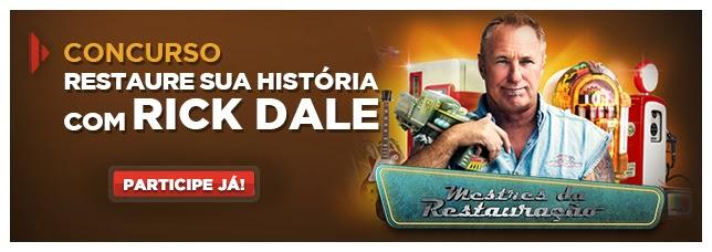 """Concurso History Chanel - """"Restaure sua história com Rick Dale"""""""