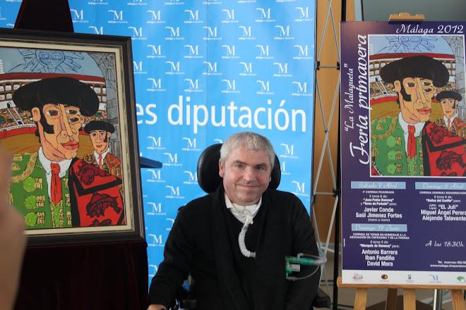 CARTEL DE LA CORRIDA PICASSICA DE MÁLAGA 2012.