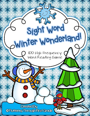 http://www.teacherspayteachers.com/Product/Sight-Word-Winter-Wonderland-100-High-Frequency-Word-Reading-Game-985002