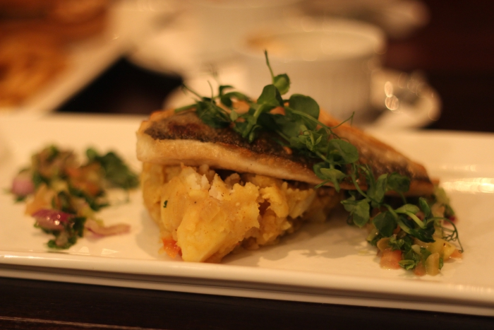 Hilton Hotel Southampton Review Fish Main Meal Sea Bream