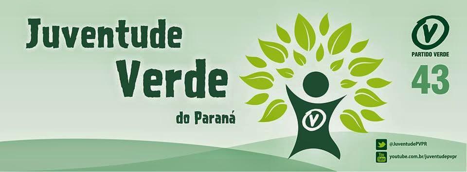 Site da Juventude do Partido Verde do Paraná