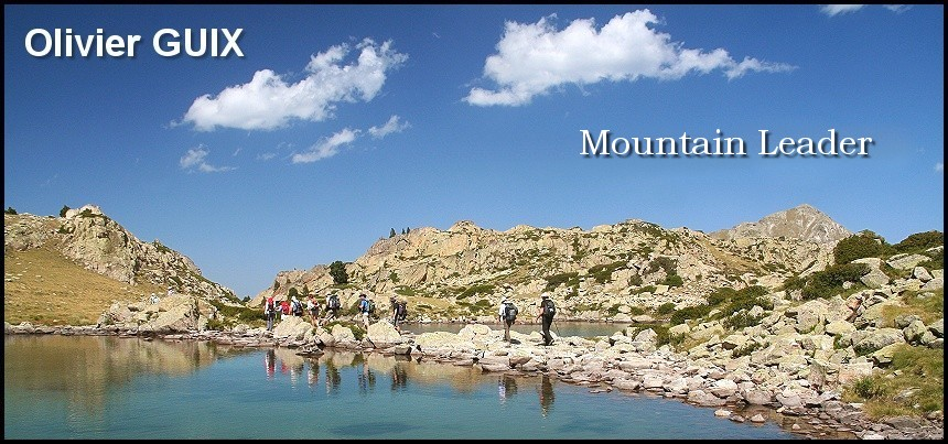 Olivier Guix : Mountain Leader - Photograph - MTB instructor