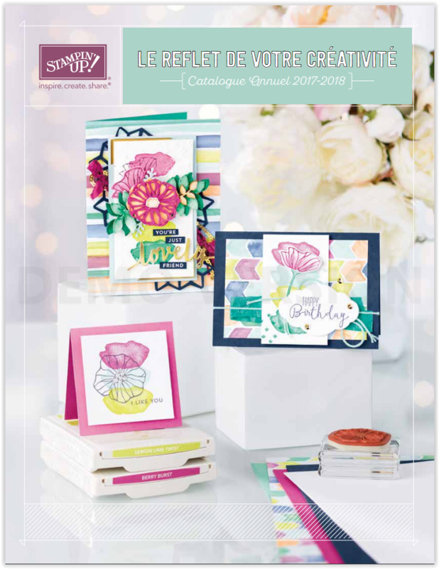 Catalogue Annuelle Stampin'Up 2017/2018
