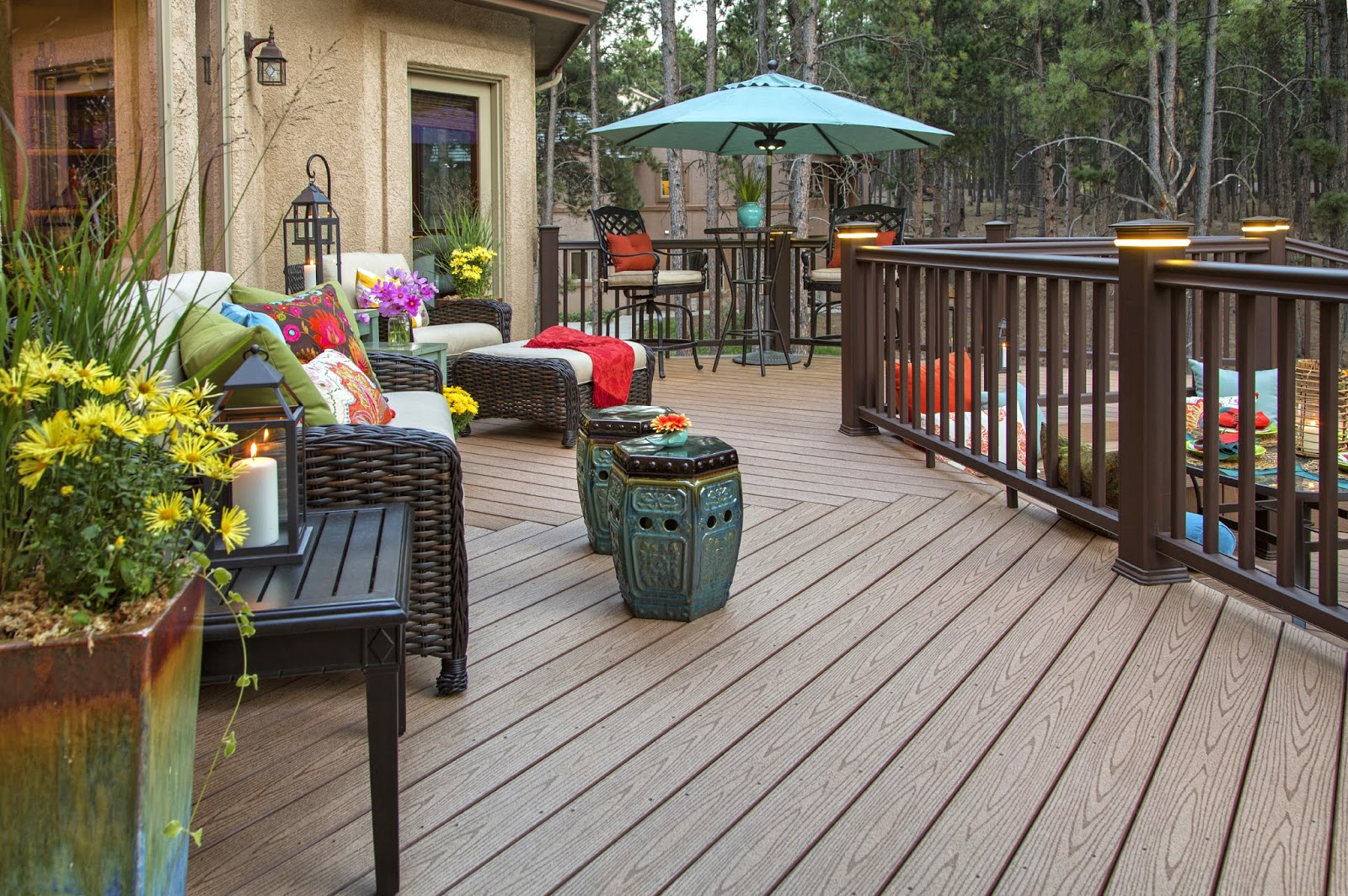 Maintain composite decking qualities with Americhem custom color masterbatches.