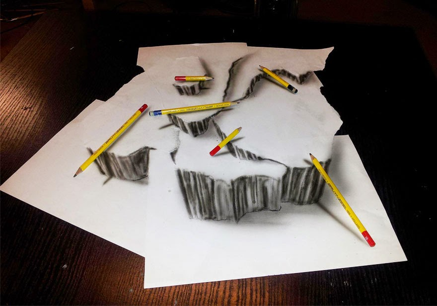 30 Of The Best 3D Pencil Drawings