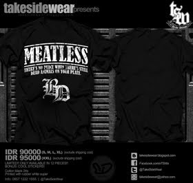 "Still Available T-Shirt ""MEATLESS"""