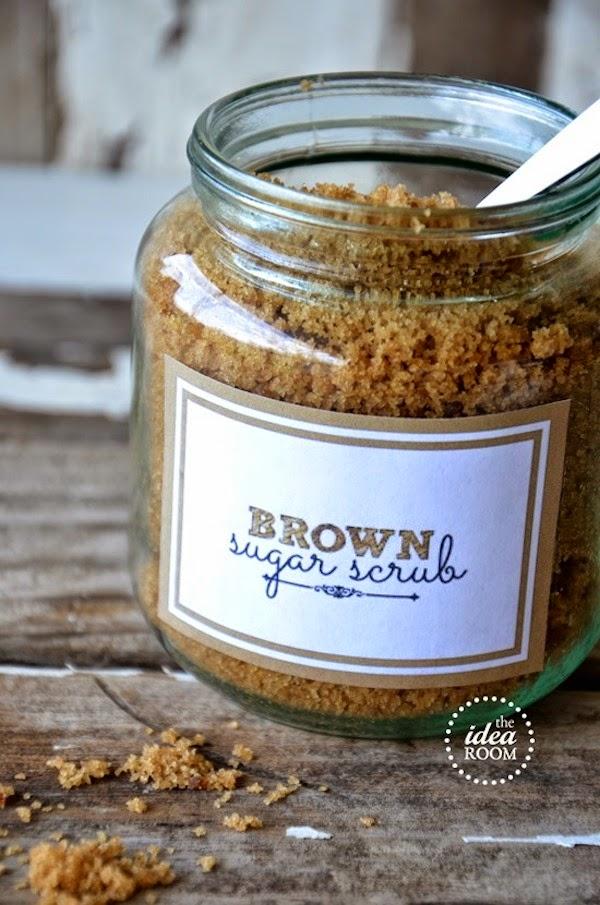 homemade brown sugar body scrub