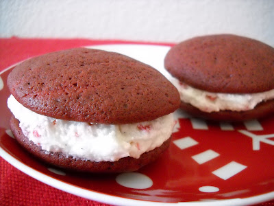 Recipe: Red velvet whoopie pies with peppermint mocha Kahlua