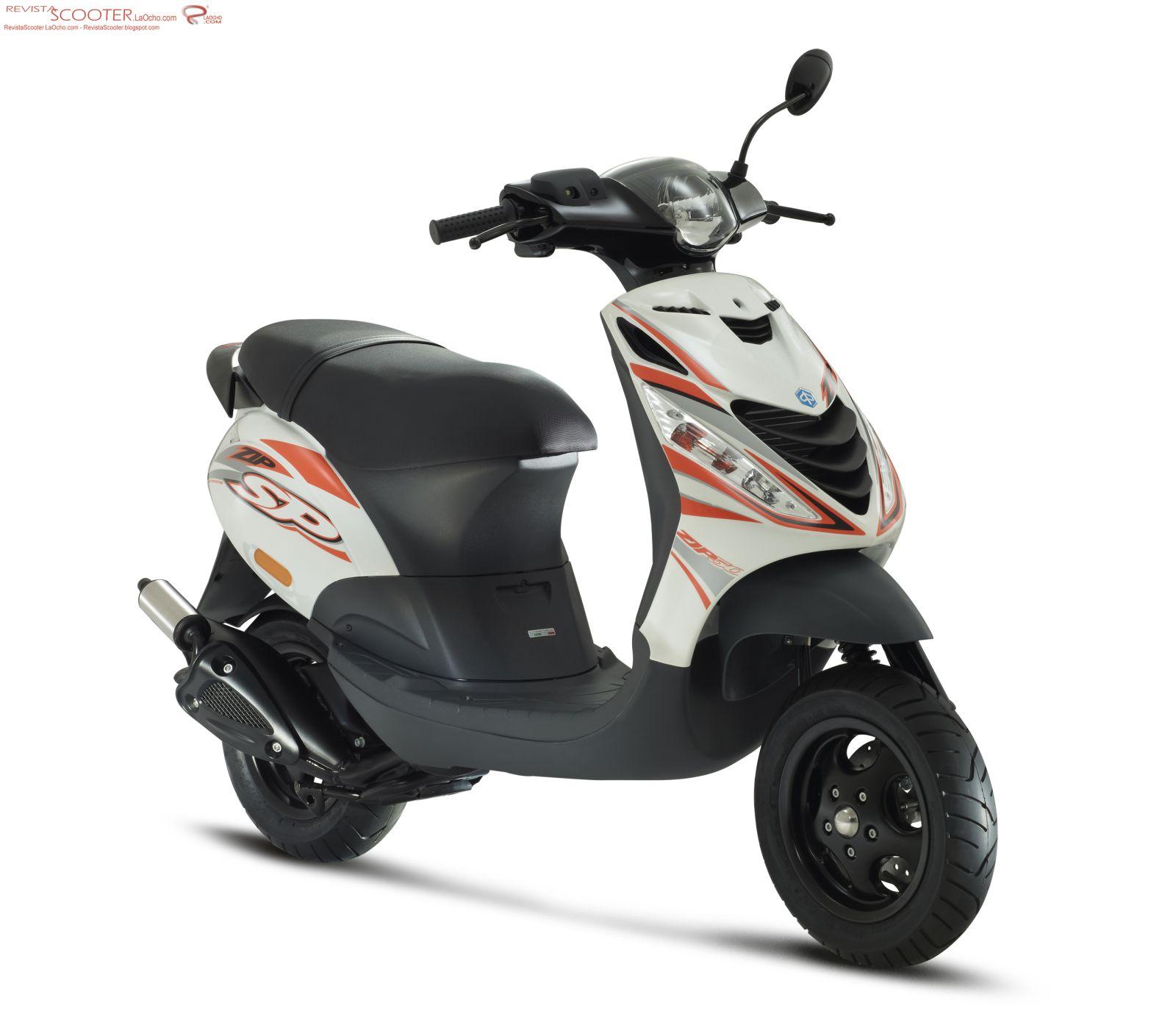 revista scooter nueva piaggio zip sp. Black Bedroom Furniture Sets. Home Design Ideas