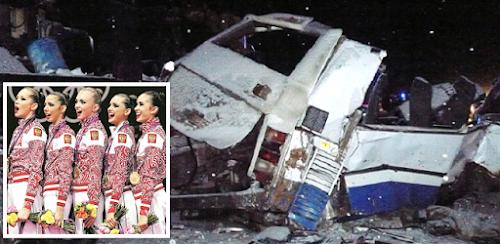 TRAGÉDIA: Acidente de ônibus deixa 10 ginastas entre 12 a 14 anos mortas