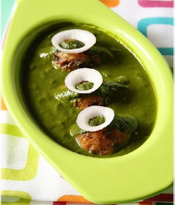 How to make green kofta