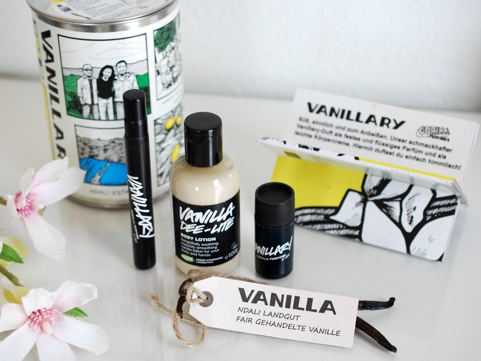 Exklusives und limitiertes Lush Vanillary Geschenk in der Sammlerbox