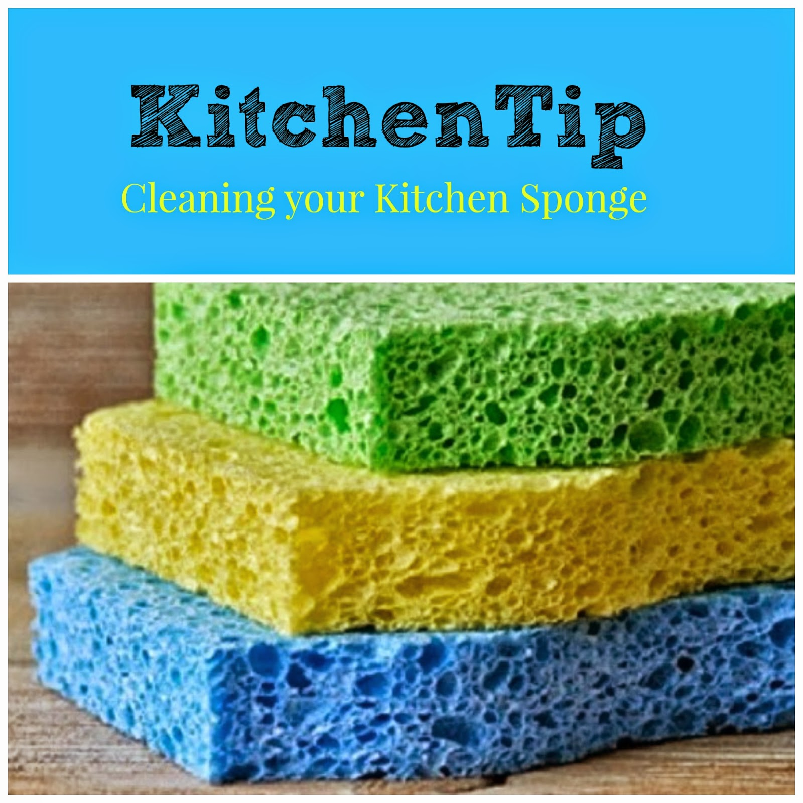 How To Clean Your Kitchen Sponge - Best Home Interior •