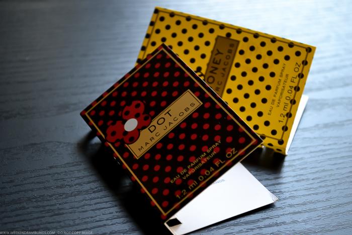 Perfume Sampler Reviews  Marc Jacobs Dot Honey Eau de Parfum