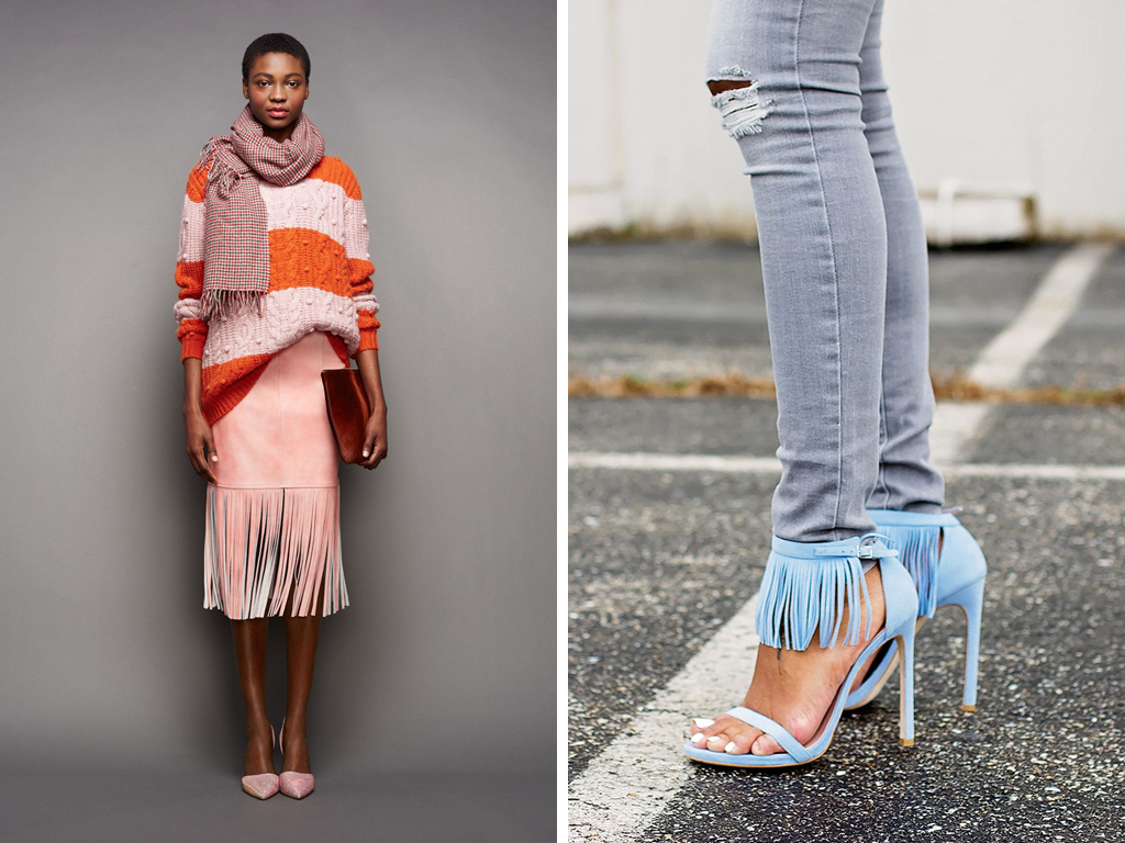 Fringe Fashion Inspiration - J. Crew and The Daileigh