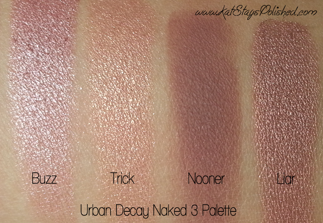 Urban Decay Naked 3 Palette - Buzz | Trick | Nooner | Liar