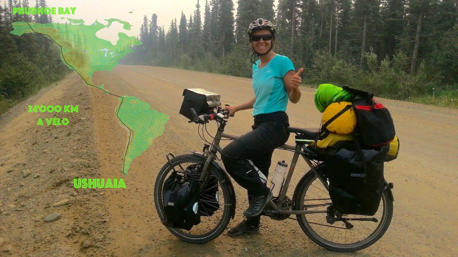 Alaska - Terre de feu à vélo