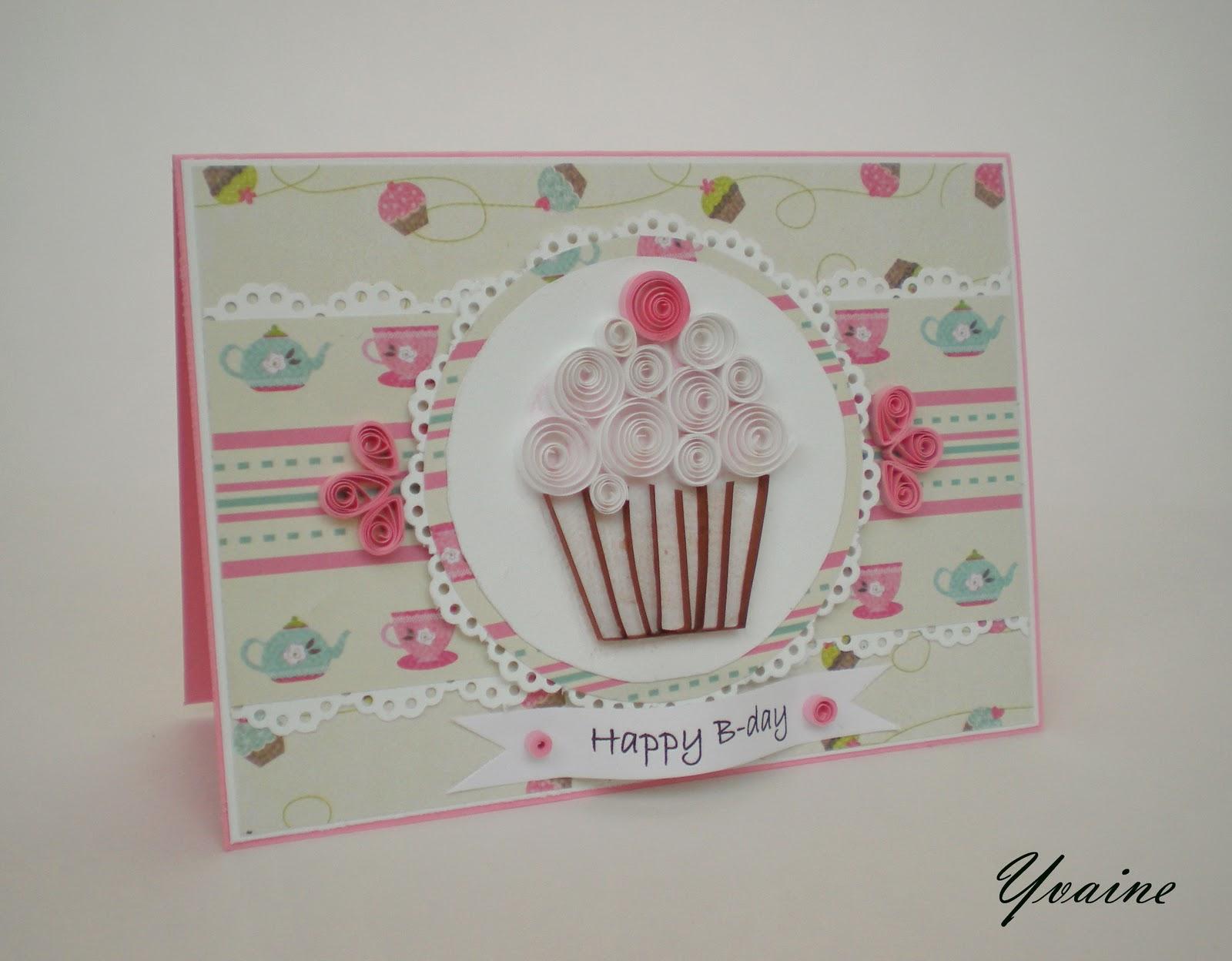 Открытка торт из бумаги своими руками