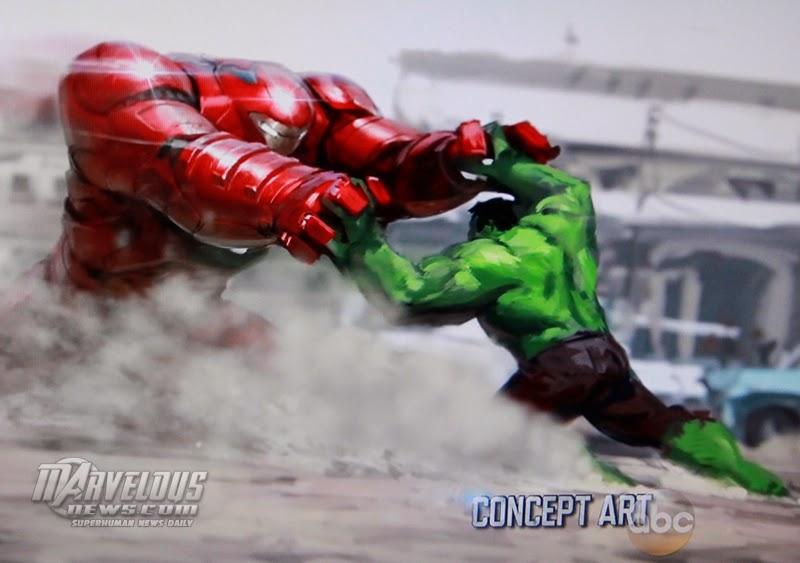 """Hulkbusters vs Hulk en """"Los Vengadores: La Era de Ultron"""""""