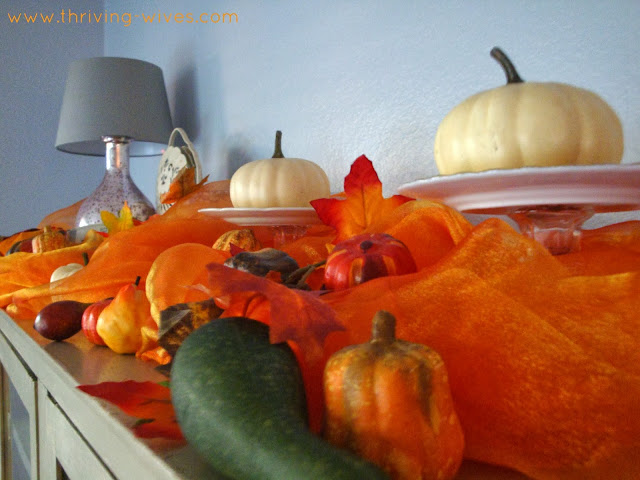 vintage autumn fall decor