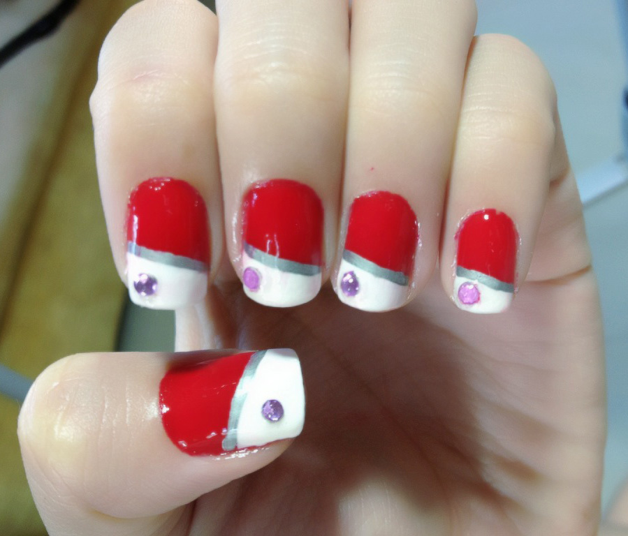 acrylic nail designs for valentines day - Acrylic Nails Tutorial Valentines  day design #1 YouTube - Acrylic Nail Designs For Valentines Day