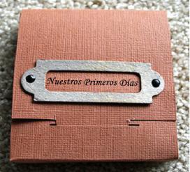 caja album con fotos