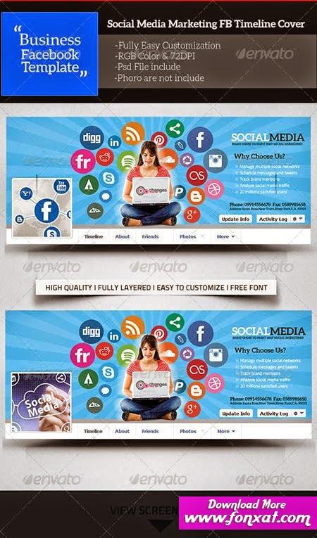 اغلفة PSD للفيس بوك اغلفة مواقع التواصل cover facebook