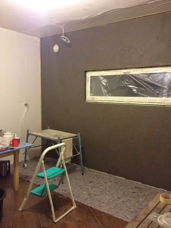 unser traumhaus danwood point 238 im odenwald die w nde bekommen ihre kleider weiter gehts. Black Bedroom Furniture Sets. Home Design Ideas