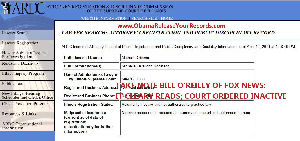 Video Bill Oreilly Admits Obama Didnt Release His Birth