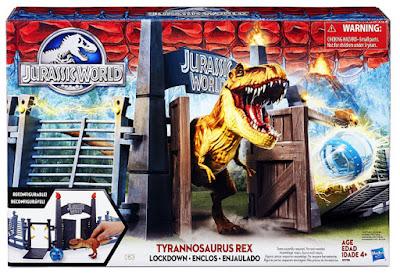 JUGUETES - JURASSIC WORLD  Tyrannosaurus Rex Lockdown | Enjaulado | Playset  Producto Oficial Película 2015 | Hasbro | A partir de 4 años  Comprar en Amazon