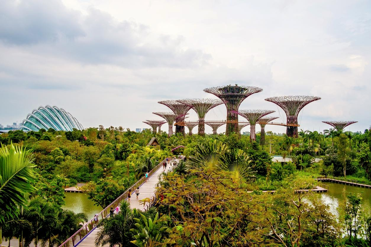 Gardens by the Bay. Credit Carlos Spottorno/Panos Pictures