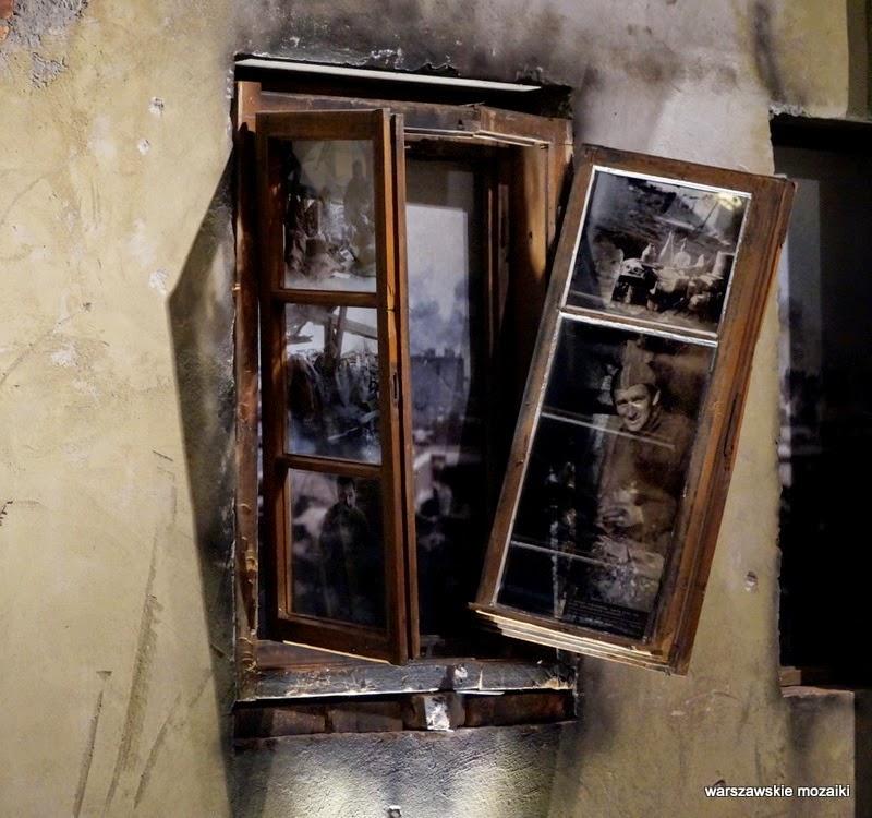 okno Elektrownia Tramwajów Miejskich muzea warszawskie Warszawa Powstanie Warszawskie Wola ekspozycja Grzybowska