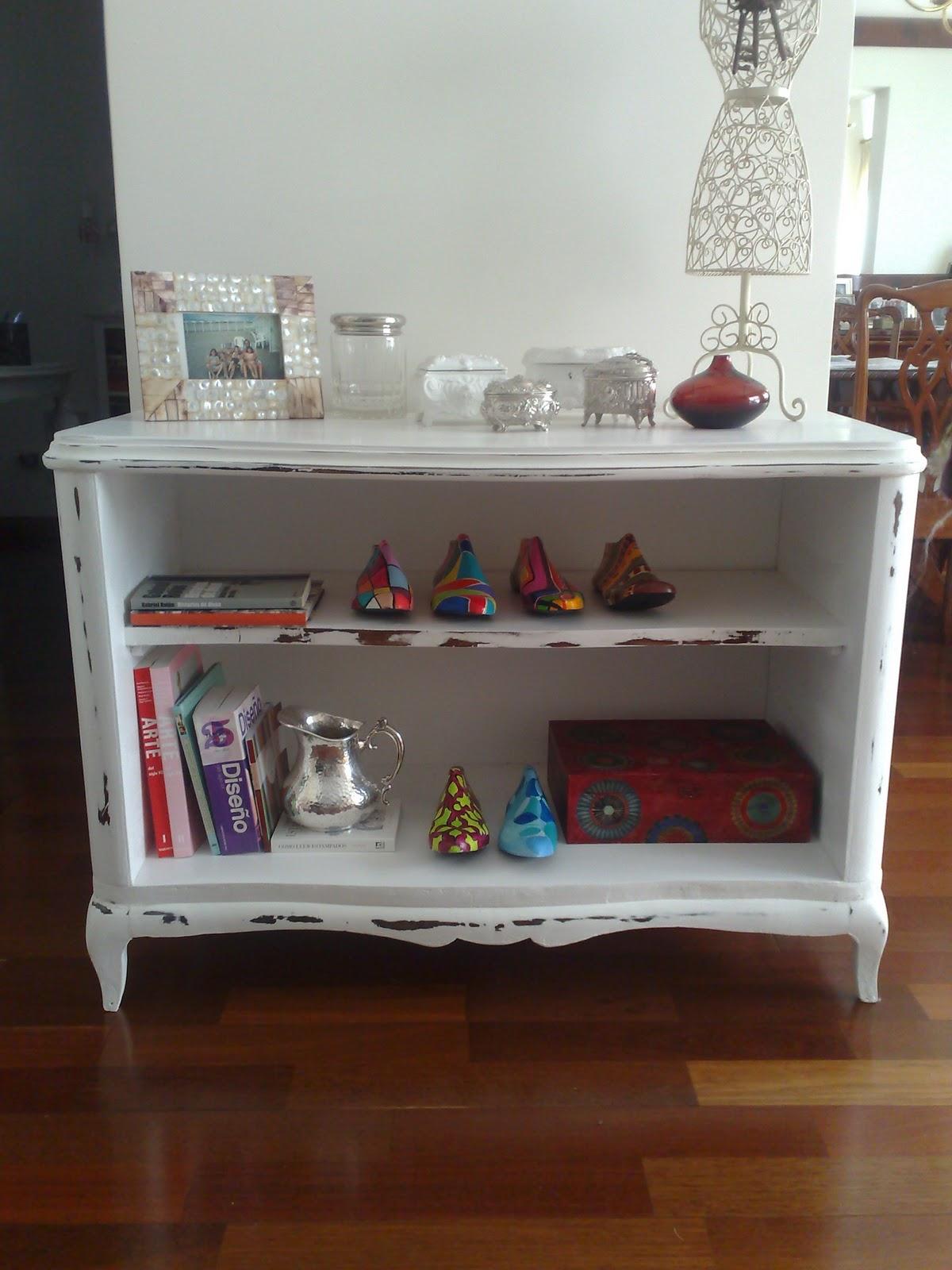 Vintouch muebles reciclados pintados a mano mueble for Muebles estilo frances online