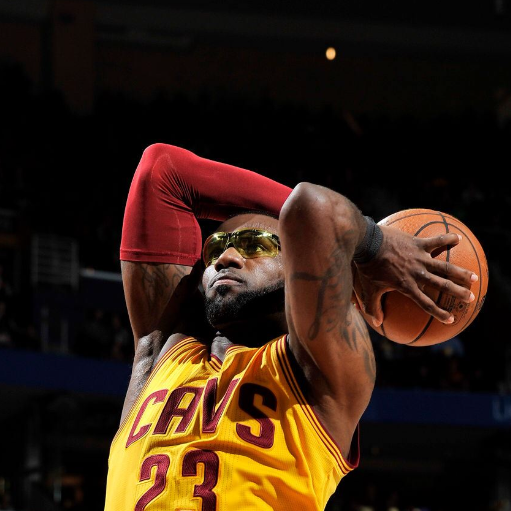 Why Was LeBron Wearing Goggles? James' Glasses - NBA Standings