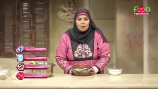 بانوراما فوود البلدي يوكل هالة فهمى طريقة عمل ارز باللبن فرن وكشرى وحمص الشام