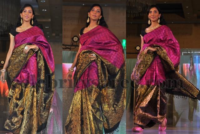 Half and Half Classy Silk Silk Sari