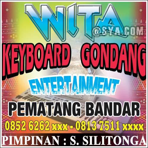 Spanduk Wita Keyboard