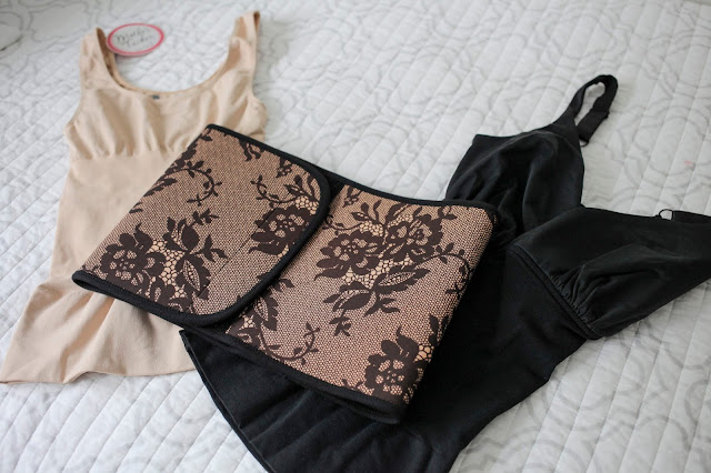 Belly Bandit products. The Mother Tucker Nursing Tank and Black Couture Lace Belly Bandit
