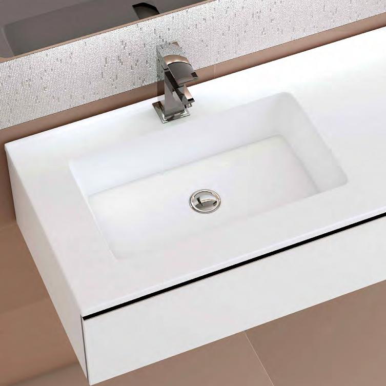 lavabo carga mineral baño 140