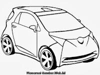 Gambar Mobil Toyota Untuk Diwarnai