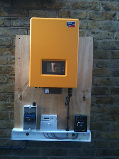 Sunny Boy 3000HF inverter was Error 8 - Waiting for Grid Voltage, Check Fuse,  Contact Installer