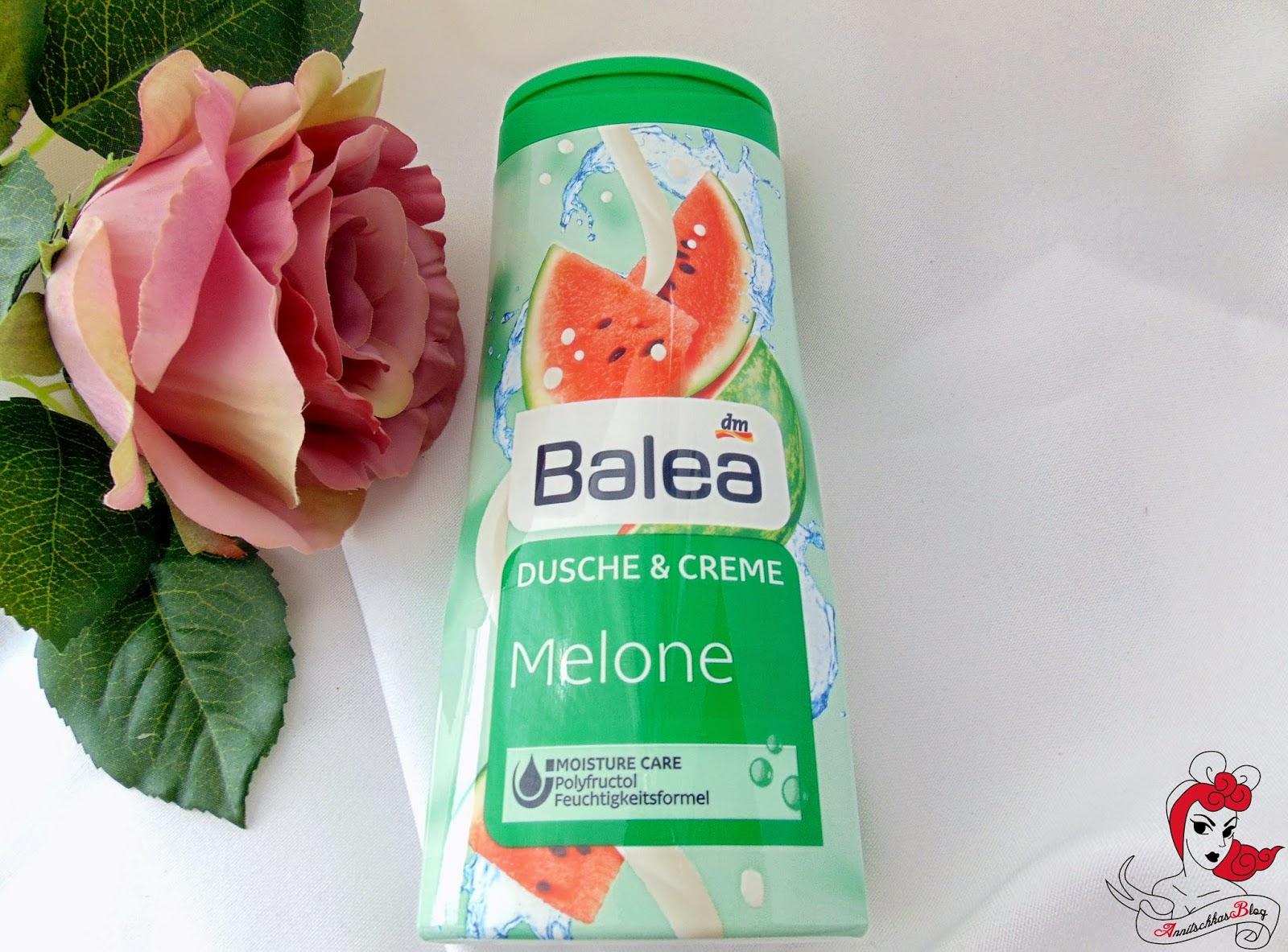 Balea - Dusche & Creme Melone - www.annitschkasblog.de