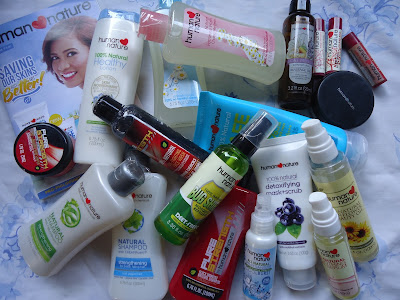 Human Nature personal care and household products